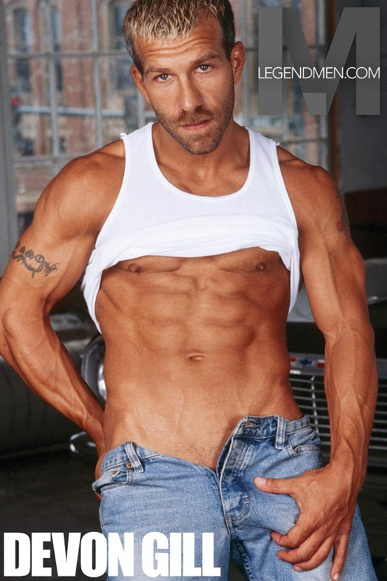 Legend Men Hot naked muscle hunks Devon Gill Ripped Muscle Bodybuilder Strips Naked and Strokes His Big Hard Cock photo Top 100 worlds sexiest naked muscle men at Legend Men (31 40)